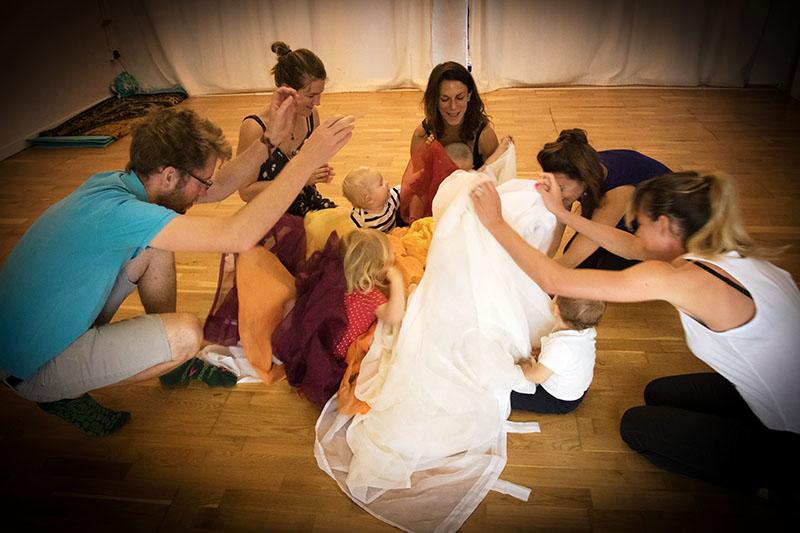 atelier éveil sensoriel dansé marseille