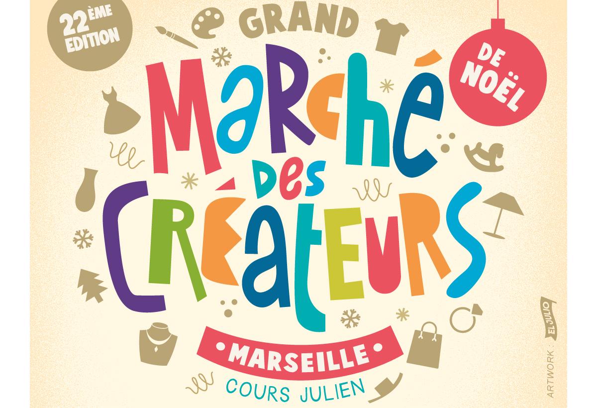 Grand Marché de Noël Cours Julien Marseille