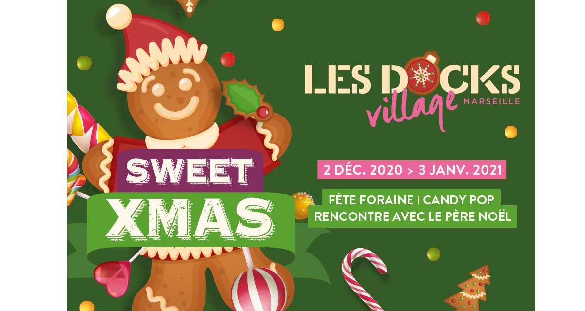 Noël aux Docks Village à Marseille