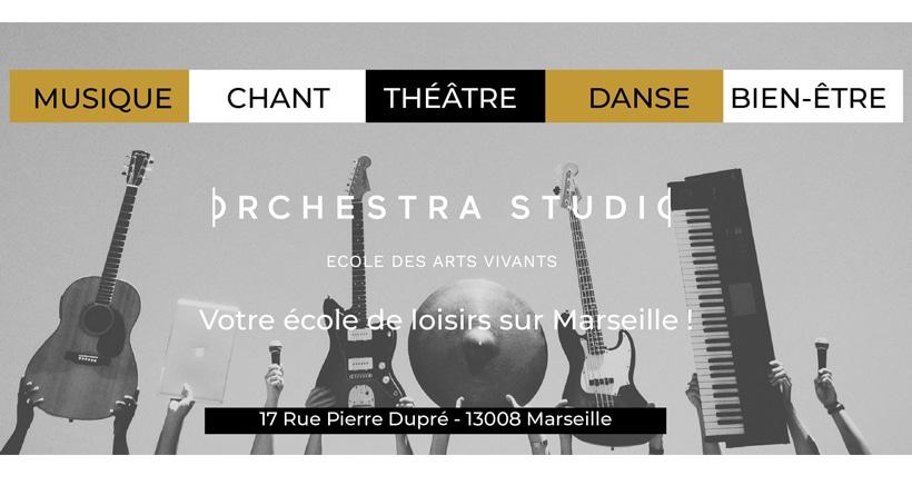 Orchrestra Studio, école des arts vivants à Marseille